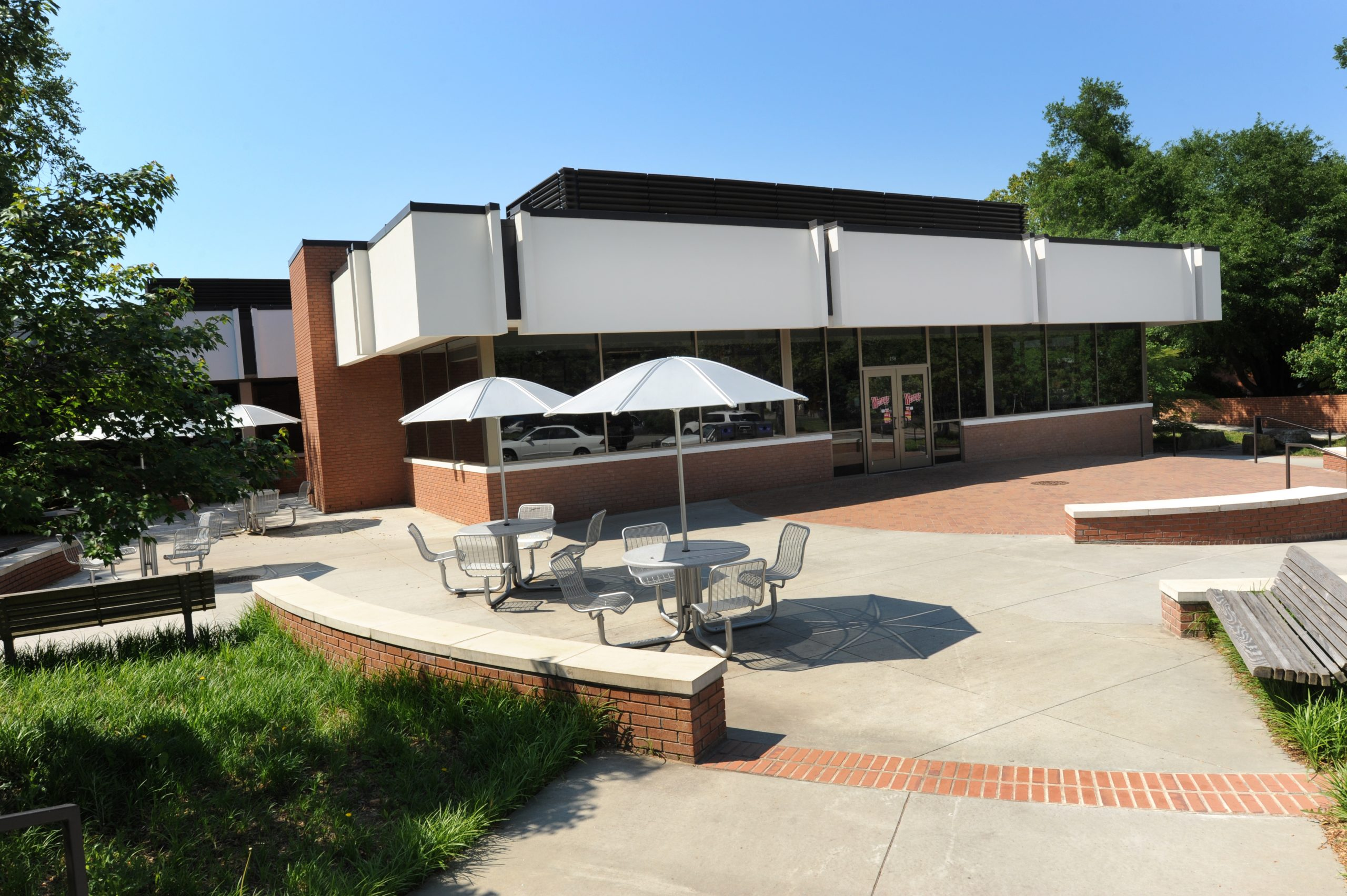 Wendys On campus eatery exterior